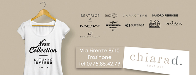 chiara<strong>d</strong> - New Collection